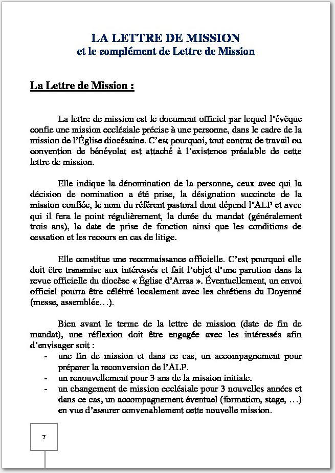 lettre de mission contrat de travail SDAP lettre de mission contrat de travail