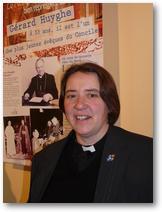 Révérend Caroline Pinchbeck, représentait le diocèse de Canterbury