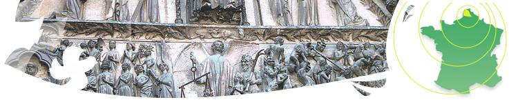 Jugement Tympan de Bourges