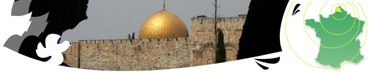 Dôme d'Omar Jérusalem