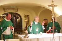 Célébration au tombeau de saint Pierre