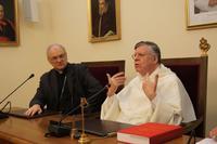 visite aux discastères (ici pour la cause des saints)