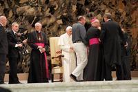 Audience avec le pape