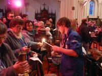 Lumière de Noël scouts Calais