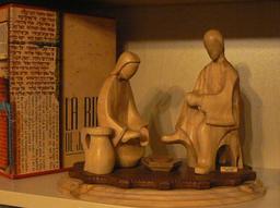 Jésus lave les pieds des disciples