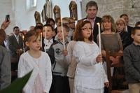 Premières communions à Hestrus