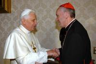 Benoit XVI et François 1er