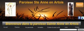 site internet Ste Anne en Artois