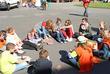Temps de réflexion en groupe pour les plus jeunes et personnelle pour les plus grands