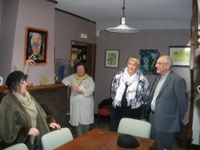 Visite pastorale de l'évêque 1er octobre 2013