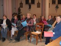 Répétition chorale de la paroisse St Eloi