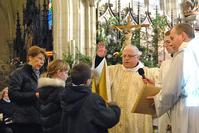 Messe des familles et deuxième étape du baptême pour les futurs baptisés.