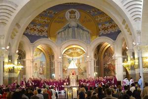 Assemblée plénière des Eveques à Lourdes