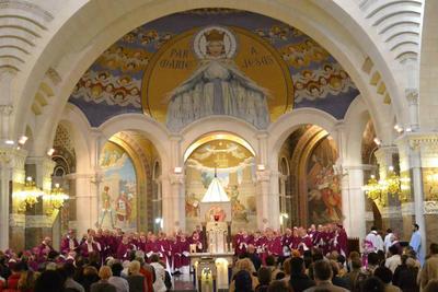 Assemblée plénière des Eveques à Lourdes (2014)