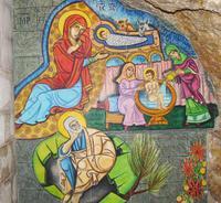 Sainte Anne icone nativité Jésus