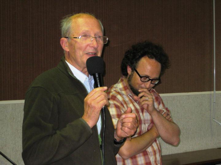 Abbe Pillain et Pasteur Jeremy Duval