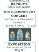 Concert Choeur de l'Estracelles