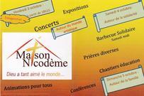 Inauguration Maison Nicodeme