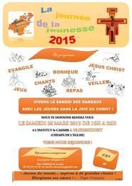 affiche journée de la jeunesse 2015 à vaudricourt