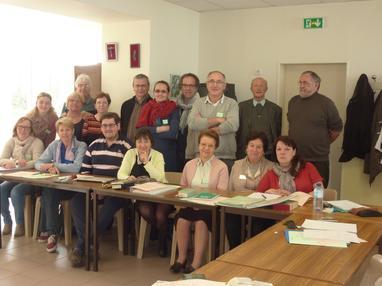 Participants à l'ADF en 2014-2015.