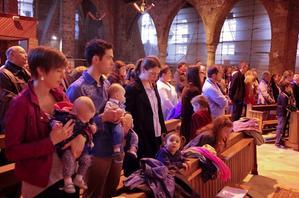 messe avec les familles courrières avril 2015 6
