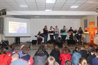 Journée de la jeunesse 2015 à vaudricourt, veillée