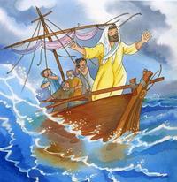 20 COLETTE ISABELLA JESUS CALMANT LA TEMPETE