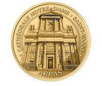 Medaille de la cathedrale d'Arras