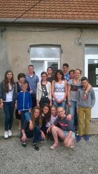 Les jeunes de la Pastorale des jeunes et des Ados