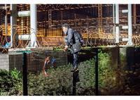 Migrant de nuit Calais