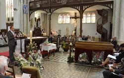 funérailles de Raymond Berteloot