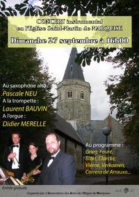 Concert du 27 septembre