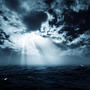 New hope in the stormy ocean, abstract environment