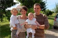 couple et deux enfants