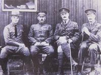 Photo 2 Philip Hamond et Eisenhower (a gauche)
