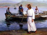 Jesus and the Disciples at the lake