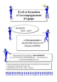 Eveil et Formation 2016-2017