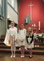 1ere communion à St Benoît
