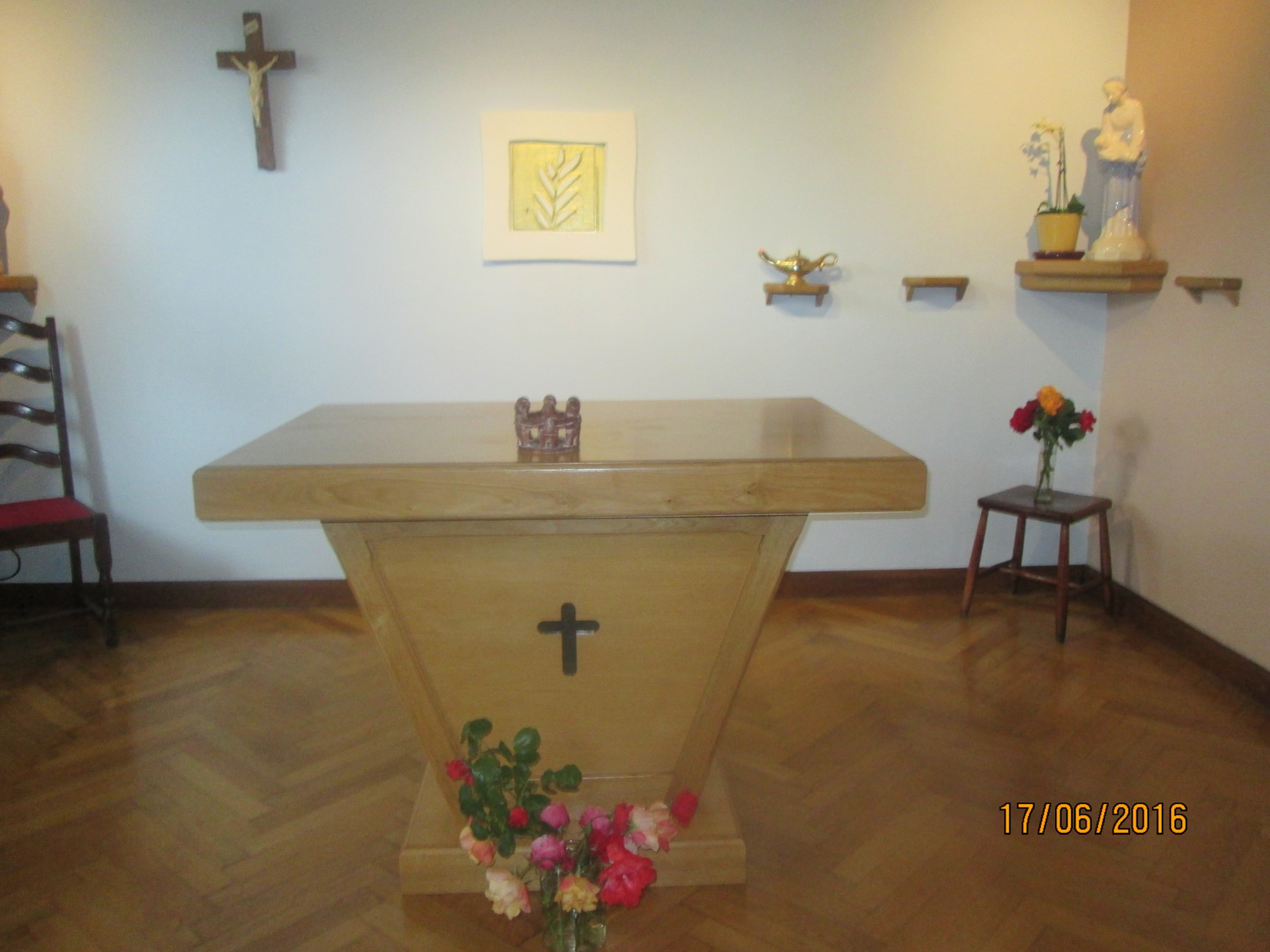 Le collège sainte ide en visite à la communauté cenacolo à hondeghem