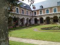 à l'abbaye de Valloires (Somme)