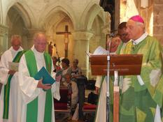 accueil de l'abbé Jean-Paul Hazelart 16