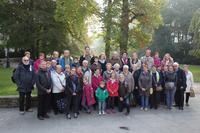 notre groupe dans le parc de la Reine Astrid