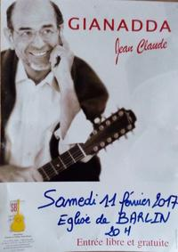 p 14 concert Jean Claude Gianadda