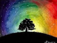 arbre arcenciel