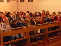 messe des familles Sainte Claire en heninois