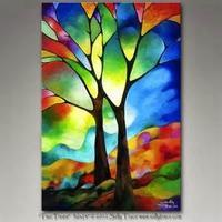 vitrail arbre