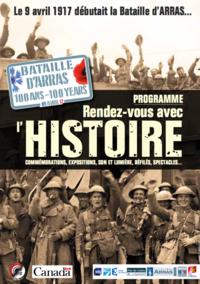 100 ans de la bataille d'Arras