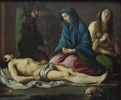 MC 15-47 Deploration sur le Christ mort (MLN)