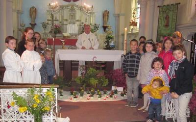 Messe de Paques a Recques-sur-Hem