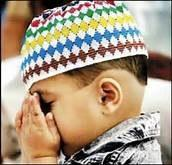 enfant en priere
